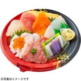 甘海老と人気ネタの海鮮丼 550円(税抜)