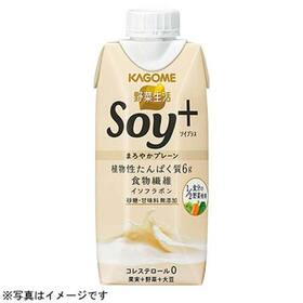 野菜生活 SOY+まろやかプレーン 148円(税抜)