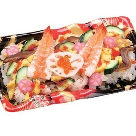 彩り五目ちらし寿司 380円(税抜)