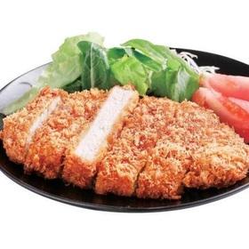熟成ホエイ豚のロースとんかつ 298円(税抜)