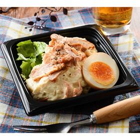 煮玉子と焼豚のポテトサラダ 298円