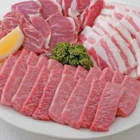 豊後焼肉セットグルメ4種盛 1,790円(税抜)