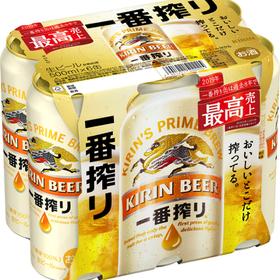 一番搾り 6缶パック500ml 1,378円(税抜)