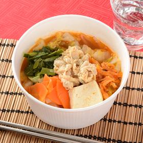 豚キムチチゲスープ 450円