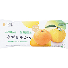 ウチカフェ 日本のフルーツ ゆず&みかん 75ml 185円