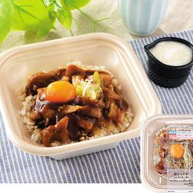 豚とろろ丼(もち麦入りご飯) 498円
