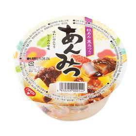 あんみつデザート(粒あん・黒みつ入) 98円(税抜)