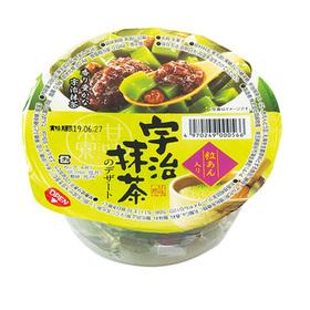 宇治抹茶デザート(粒あん入) 93円(税抜)