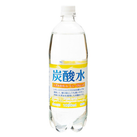 天然水使用 炭酸水(レモン) 67円(税抜)