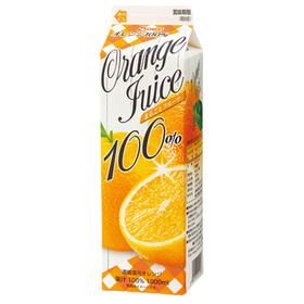 果汁100%フルーツジュース オレンジ 97円(税抜)
