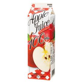 果汁100%フルーツジュース アップル 97円(税抜)