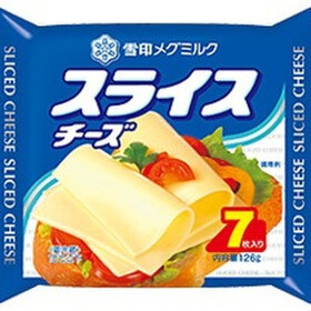 スライスチーズ 168円(税抜)