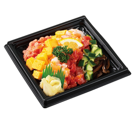 七色海鮮寿司丼 500円(税抜)