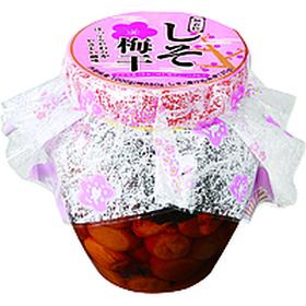しそ梅干し(壺入り) 698円(税抜)