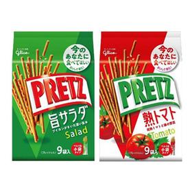 プリッツ(旨サラダ・熟トマト) 192円(税込)
