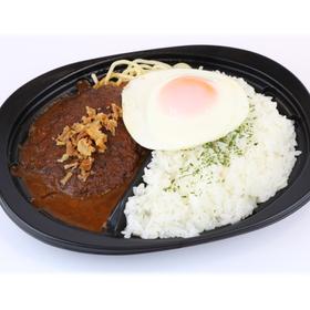 目玉焼きグリルハンバーグ弁当 430円(税込)