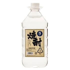 甲類焼酎25度 1,498円(税抜)