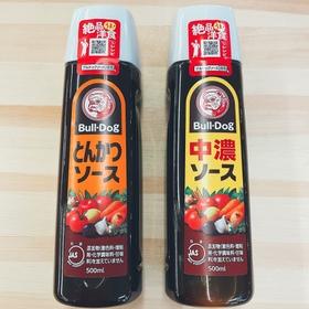中濃ソース・とんかつソース 148円(税抜)