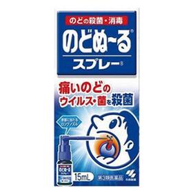 のどぬーるスプレー 598円(税抜)