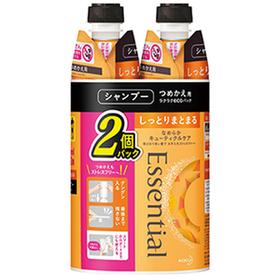 エッセンシャル 詰替 2個セット 498円(税抜)