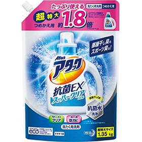 アタック抗菌EX/スーパークリアジェル 大サイズ 替 248円(税抜)