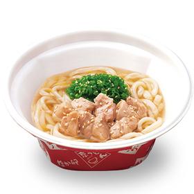 鶏塩うどん(並) 490円