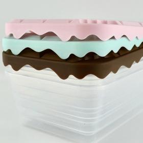 ☆フタが立体的な板チョコデザインの保存容器★ 100円(税抜)