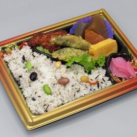 五色豆ご飯弁当 398円(税抜)