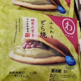 ふんわりどら焼き 抹茶あずき 98円(税抜)