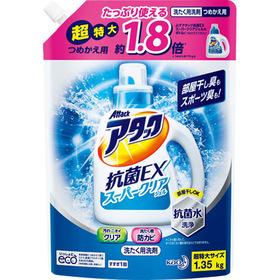 アタック 抗菌EX スーパークリアジェル 詰替 326円