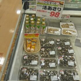 活あさり 98円(税抜)