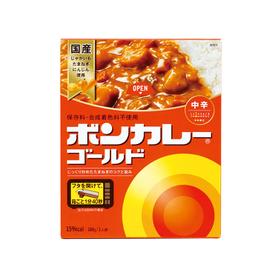 ボンカレーゴールド 中辛 98円(税抜)