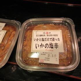 いかと塩だけで造ったいかの塩辛 498円(税抜)