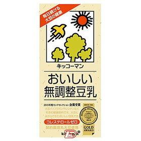 おいしい無調整豆乳・特濃調整豆乳 214円(税込)