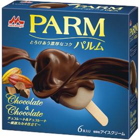 森永乳業 PARM チョコレート&チョコレート 6本 279円(税込)