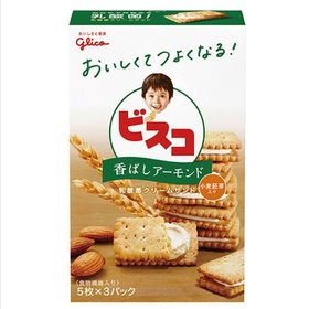 グリコ ビスコ香ばしアーモンド 15枚 95円(税込)