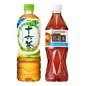 十六茶(630ml)/ウーロン茶(525ml) 63円(税込)