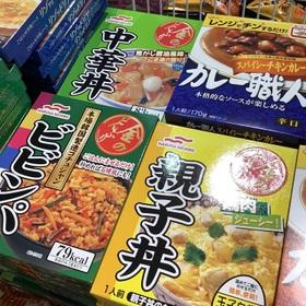 金のどんぶり(親子丼/中華丼/ビビンバ) 77円(税抜)