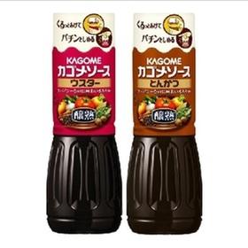 醸熟ソースウスター・トンカツ ソース 214円(税込)