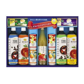 UCC&果汁飲料バラエティギフト 1,890円(税込)