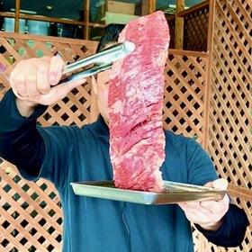 オーストラリア産牛ハラミブロックBBQ用(横隔膜) 398円(税込)