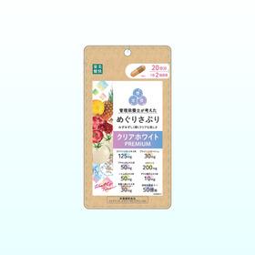 めぐりさぷりクリアホワイトPREMIUM 1,706円(税込)