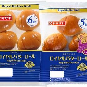 ロイヤルバターロール(6)・レーズンロール(5) 95円(税込)