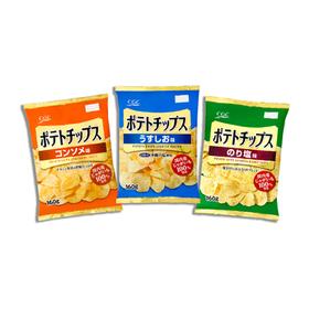 ポテトチップス 各種 192円(税込)
