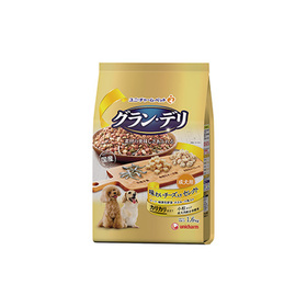 グラン・デリ カリカリ仕立て 成犬用 チーズ 1.6kg 998円(税込)