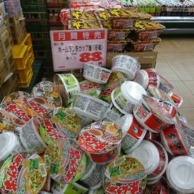 ホームラン軒 鶏ガラ醤油・合わせ味噌・野菜タンメン 96円(税込)