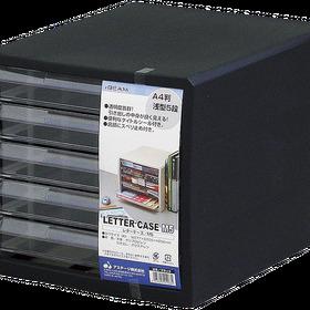 I・BEAM レターケースA4判 浅型5段 858円(税込)