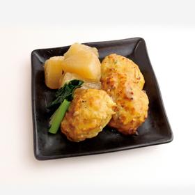 鶏つくね大根 301円(税込)