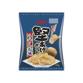 堅あげポテト(うすしお味・ブラックペッパー) 106円(税込)