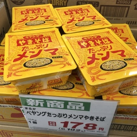 ペヤングやきそば たっぷりメンマ 192円(税込)